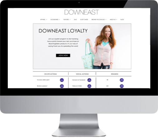 Online - Make customer loyalty convenient