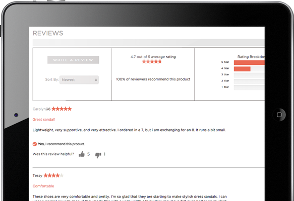 Tailored Review Templates