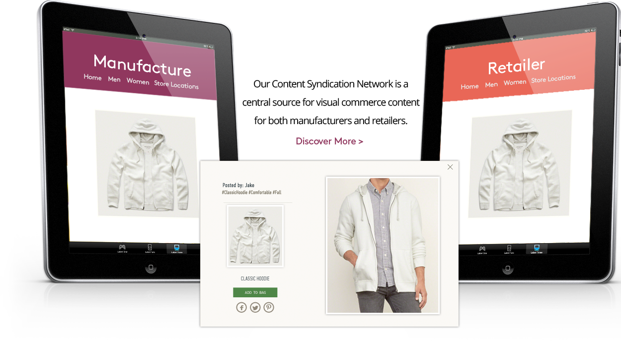 Visual Commerce Syndication